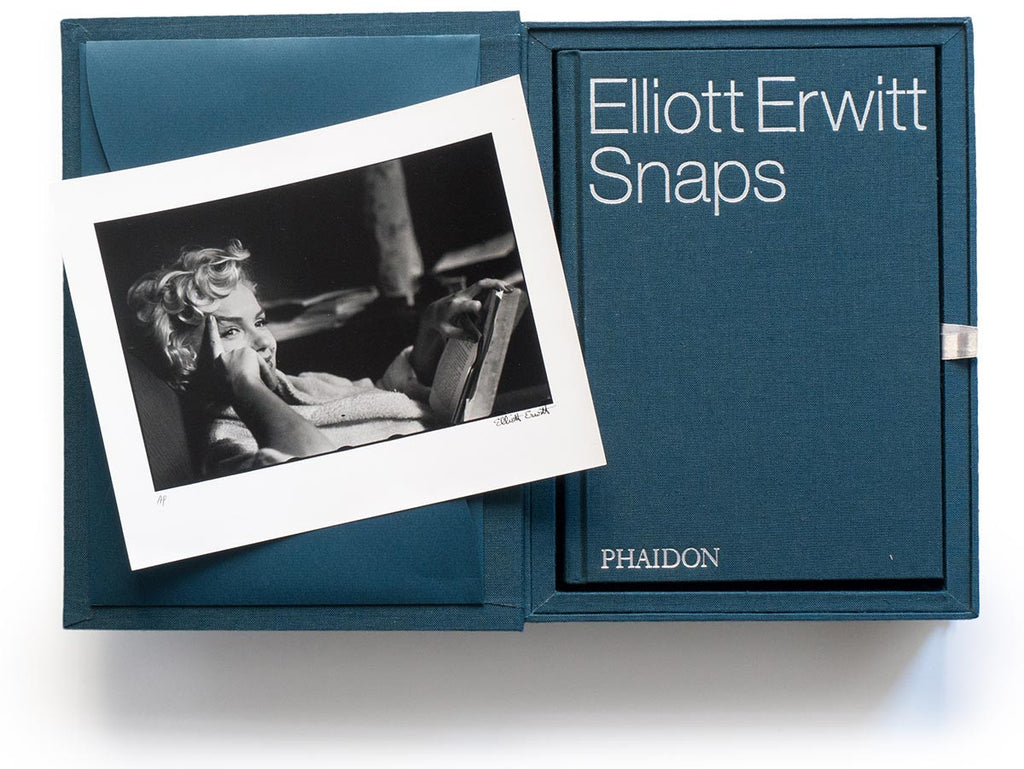 Elliott Erwitt Snaps Collector's Edition with Signed Book and Print of Marilyn Monroe, New York, 1956