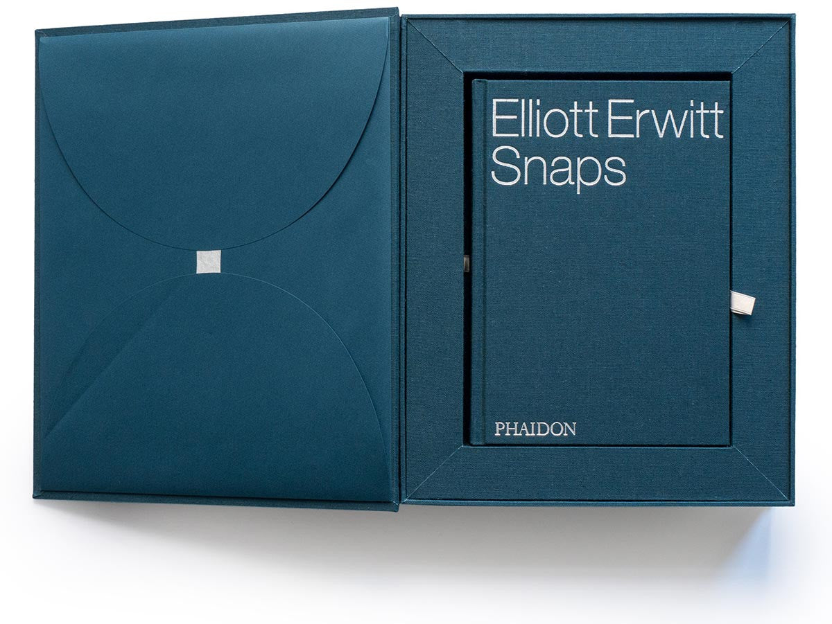 Elliott Erwitt Snaps Collector's Edition with Signed Book and Print of Paris, 1989