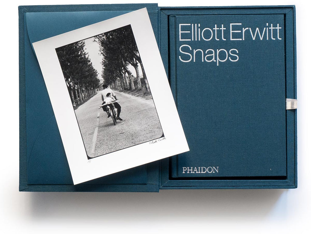 Elliott Erwitt Snaps Collector's Edition with Signed Book and Print of Provence, France, 1955