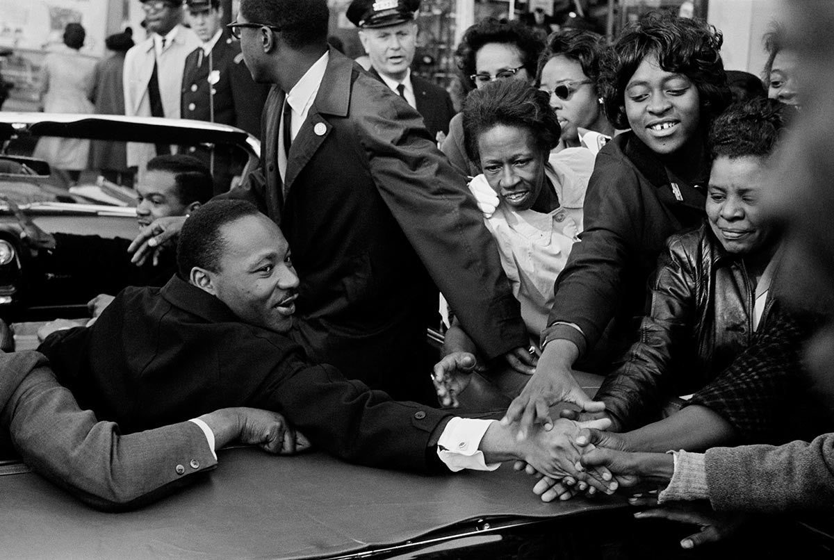 Dr. Martin Luther King, Jr. Baltimore. 1964