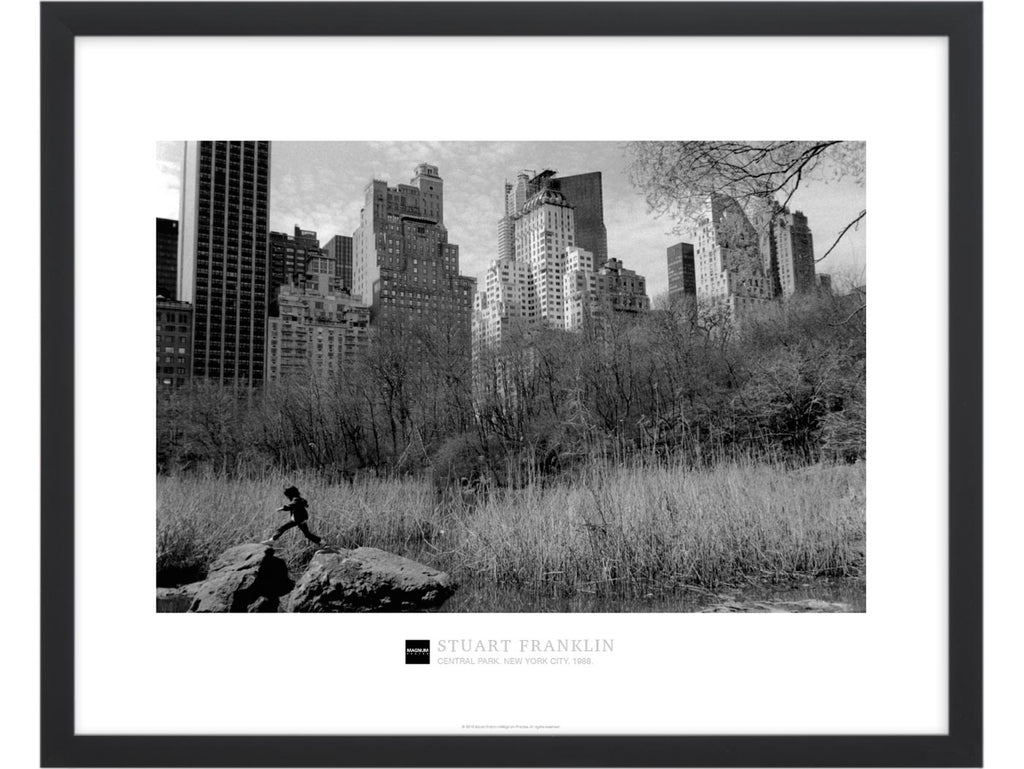Magnum Collection Poster: Central Park. New York City. 1988.