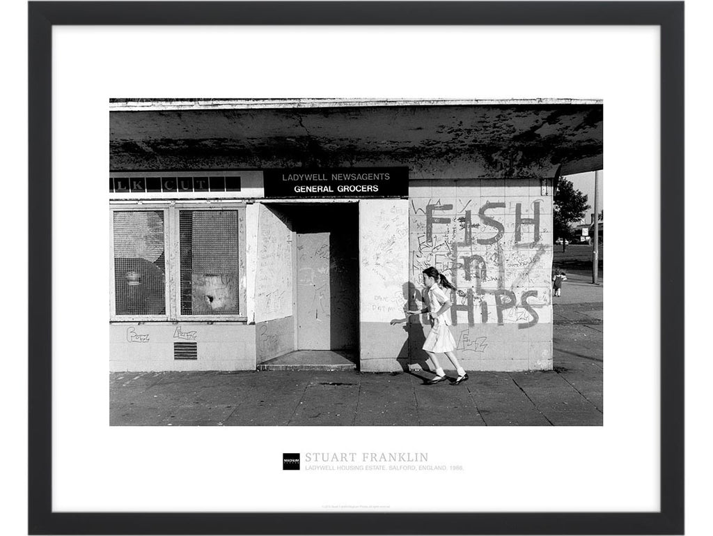 Magnum Collection Poster: Ladywell Housing Estate. Salford, England. 1986.