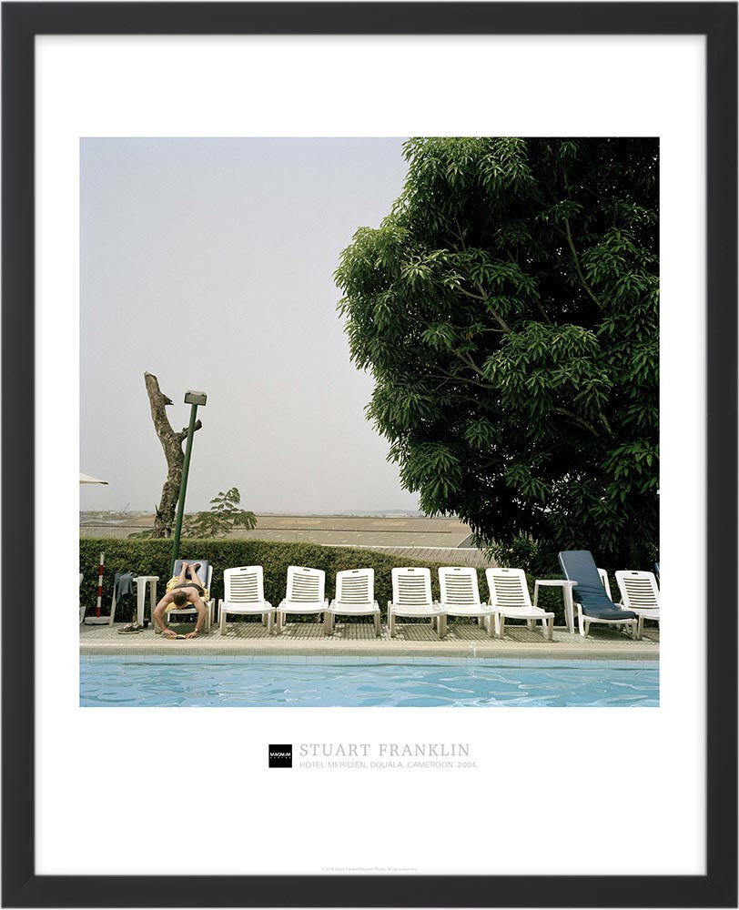 Magnum Collection Poster: Hotel Meridien, Douala, Cameroon. 2004.