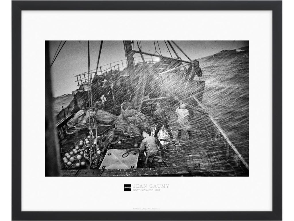 Magnum Collection Poster: On board the Spanish trawler