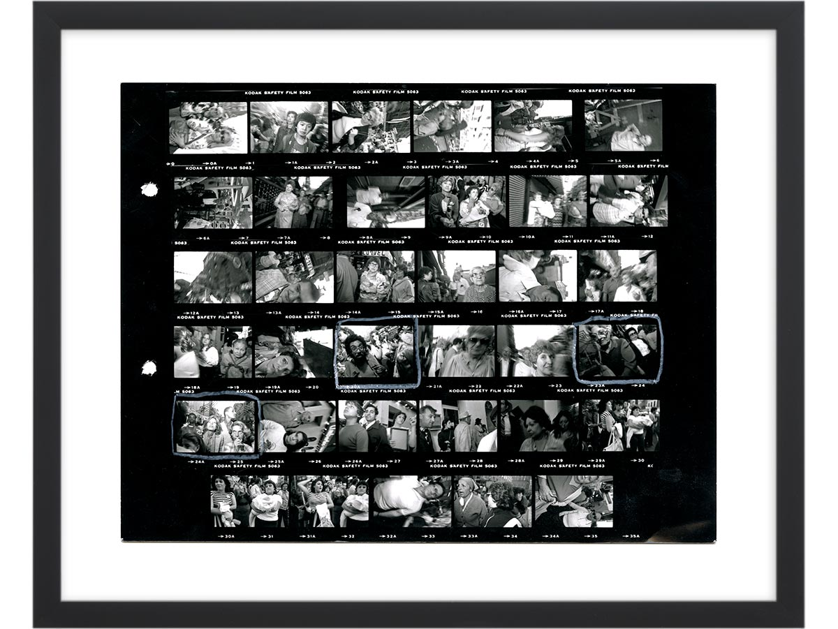 Contact Sheet Print: New York City, 1984