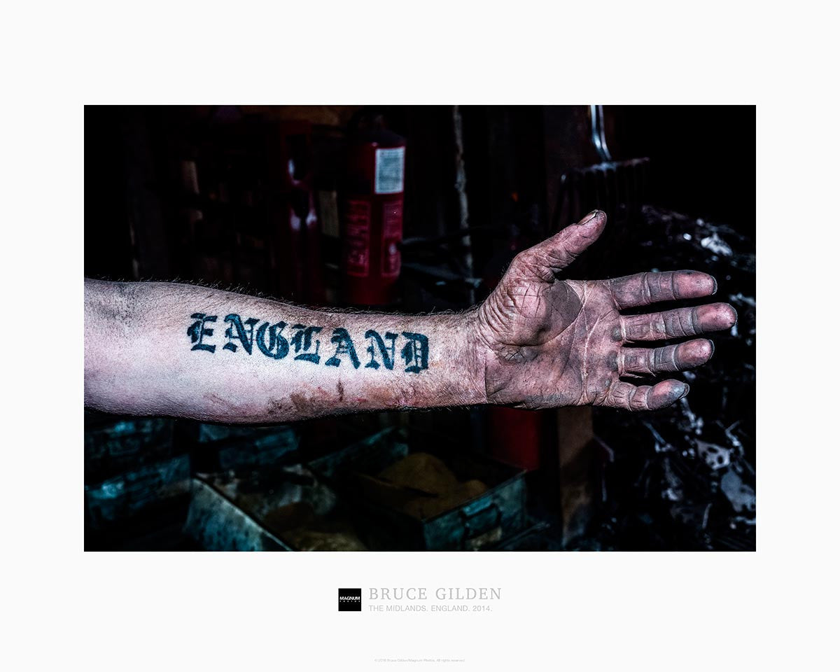 Magnum Collection Poster: The Midlands. England. 2014.