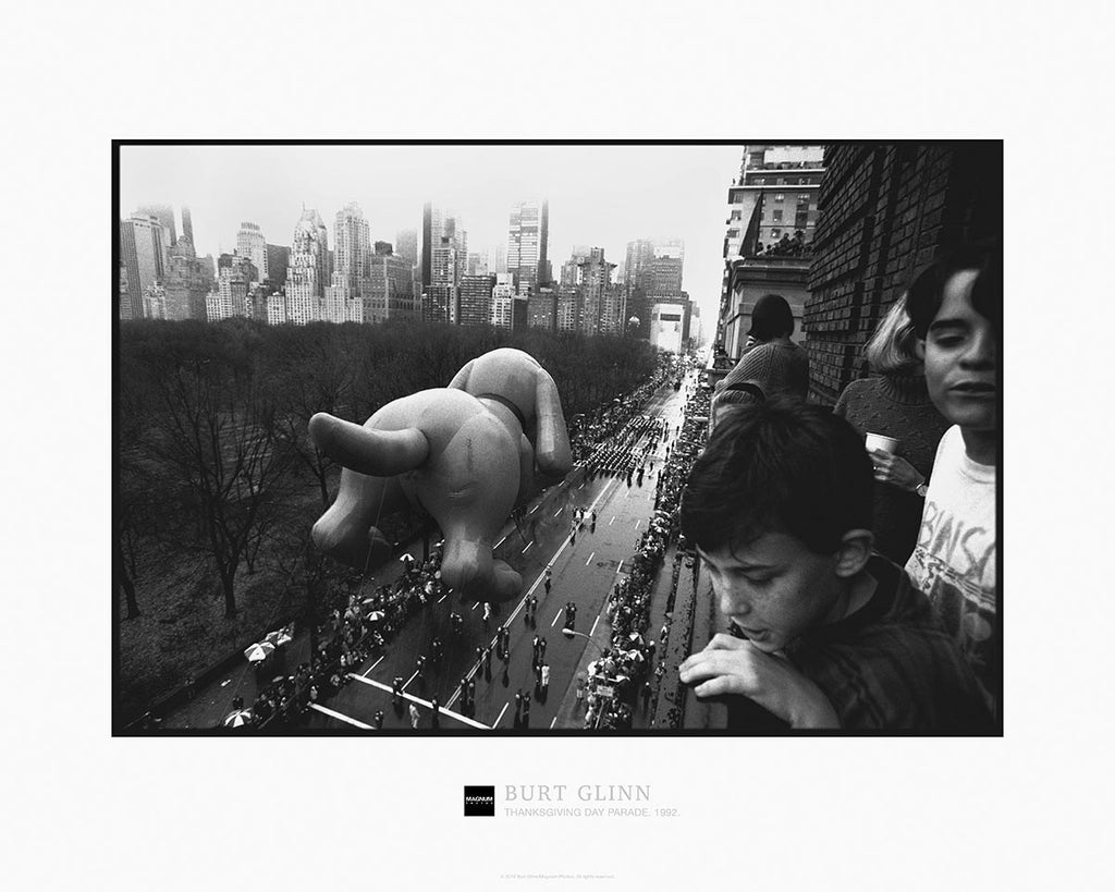 Magnum Collection Poster: Thanksgiving Day Parade. New York City. 1992.