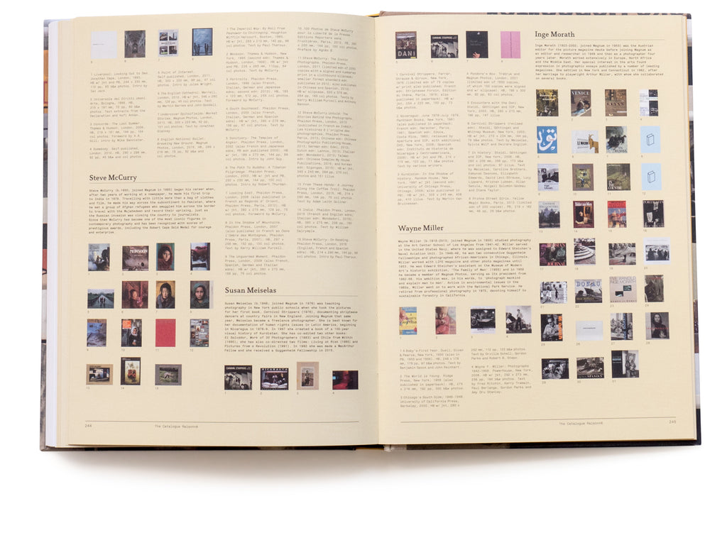 Magnum Photobook: The Catalogue Raisonné - Signed by 29 Photographers