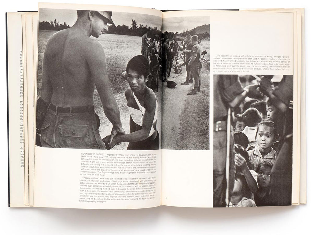 Vietnam Inc. 1st Edition 1971 Book Signed by Philip Jones Griffiths
