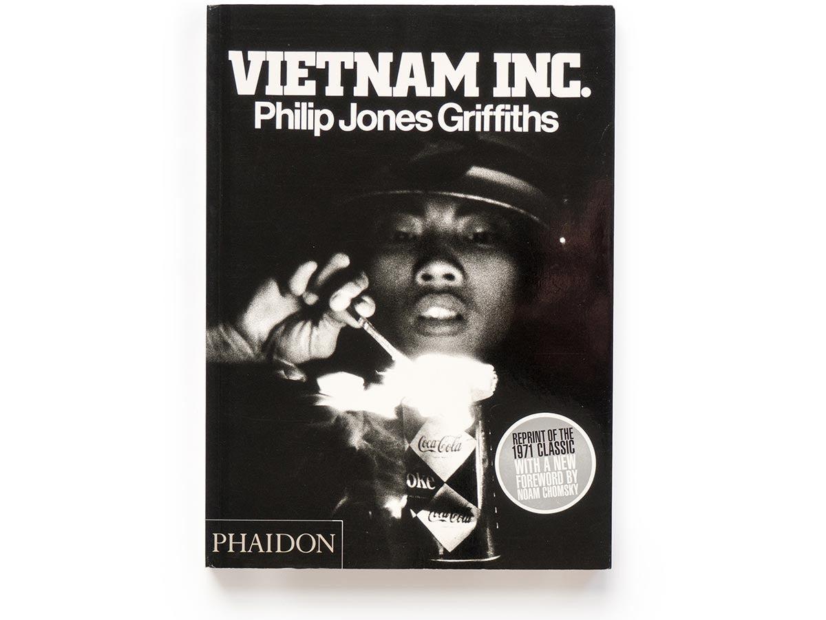 Vietnam Inc. Book Signed by Philip Jones Griffiths