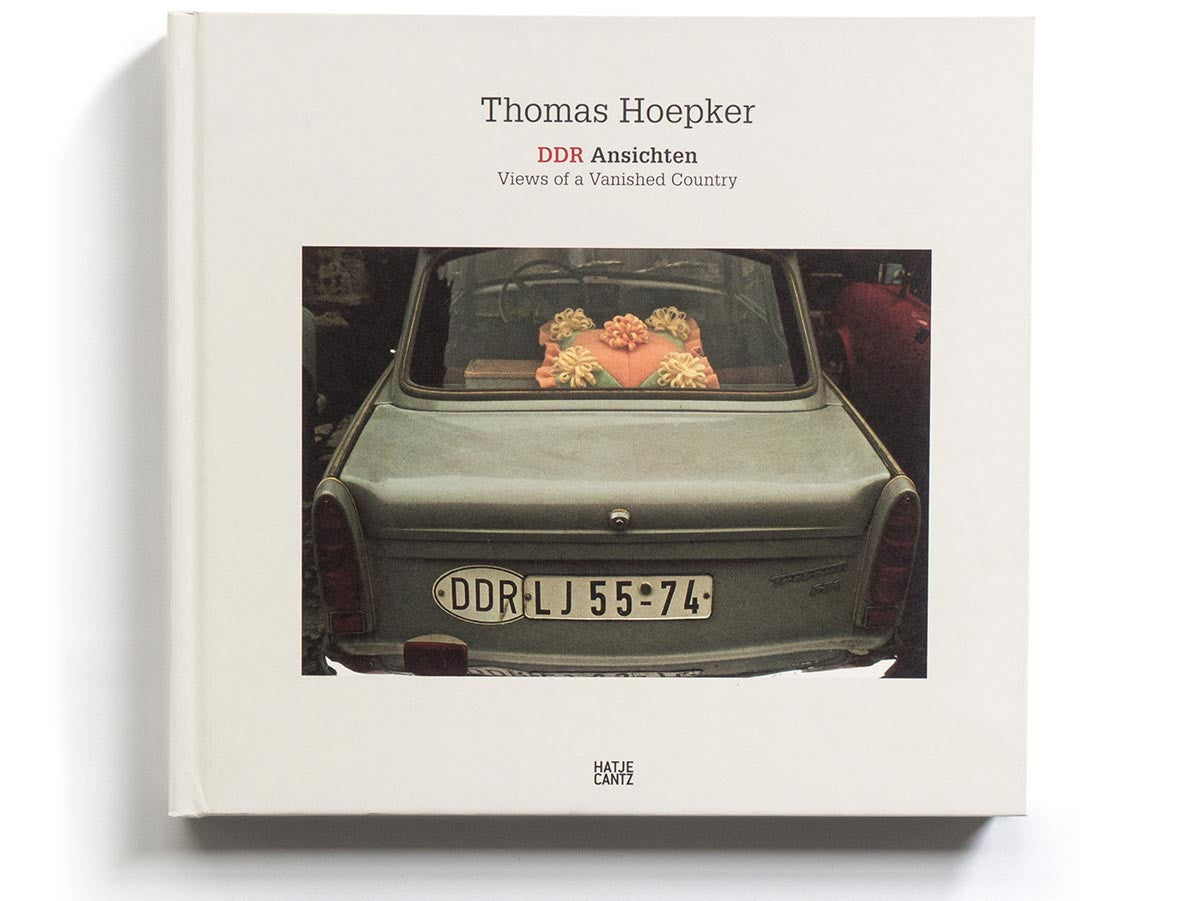 DDR Views Book Signed by Thomas Hoepker