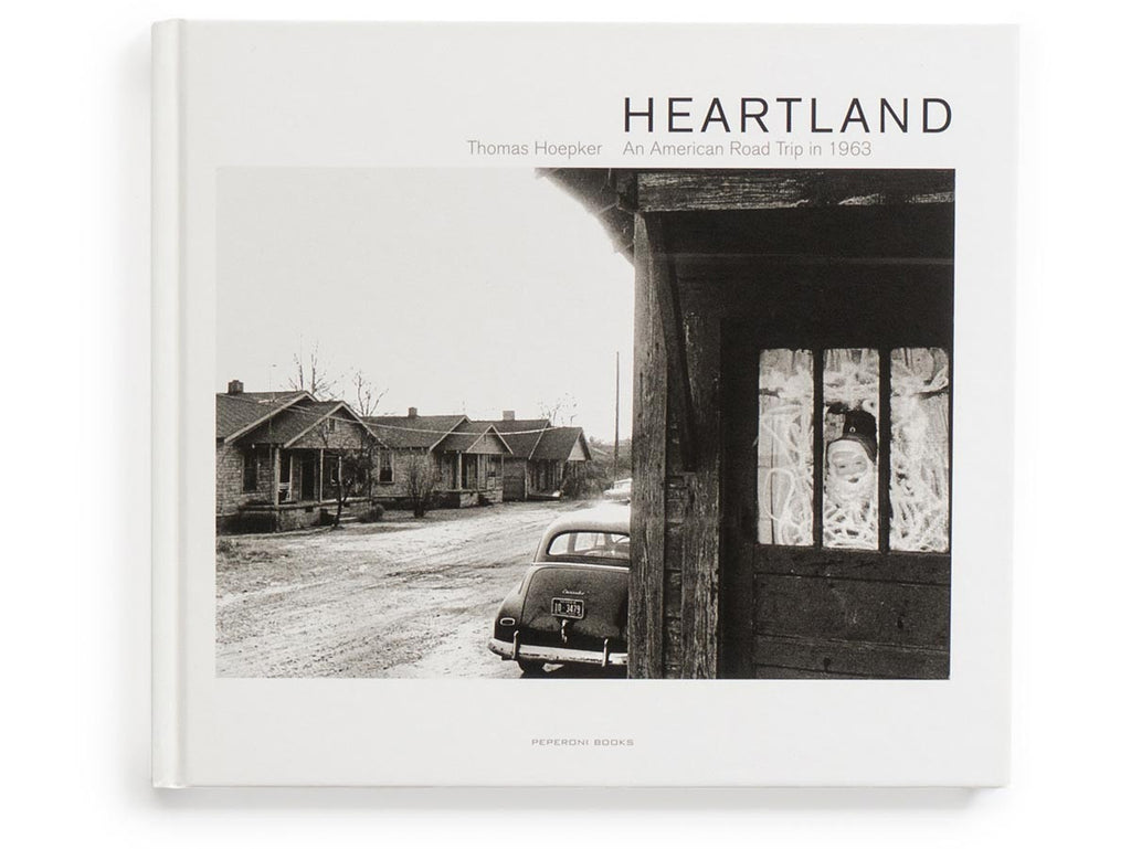 Heartland - An American Road Trip in 1963 Book Signed by Thomas Hoepker