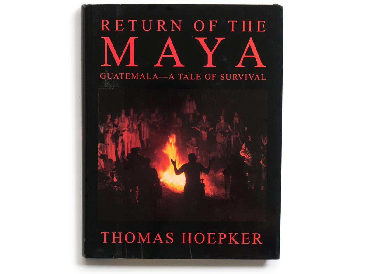 Return of the Maya Book Signed by Thomas Hoepker