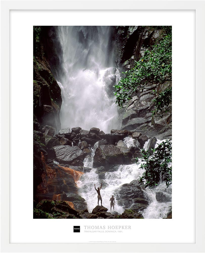Magnum Collection Poster: Trafalgar Falls, Dominica. 1991.