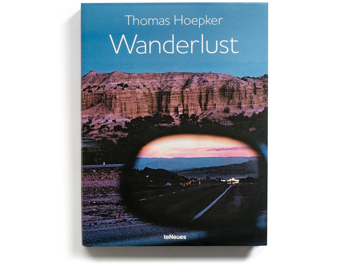 Wanderlust Book Signed by Thomas Hoepker