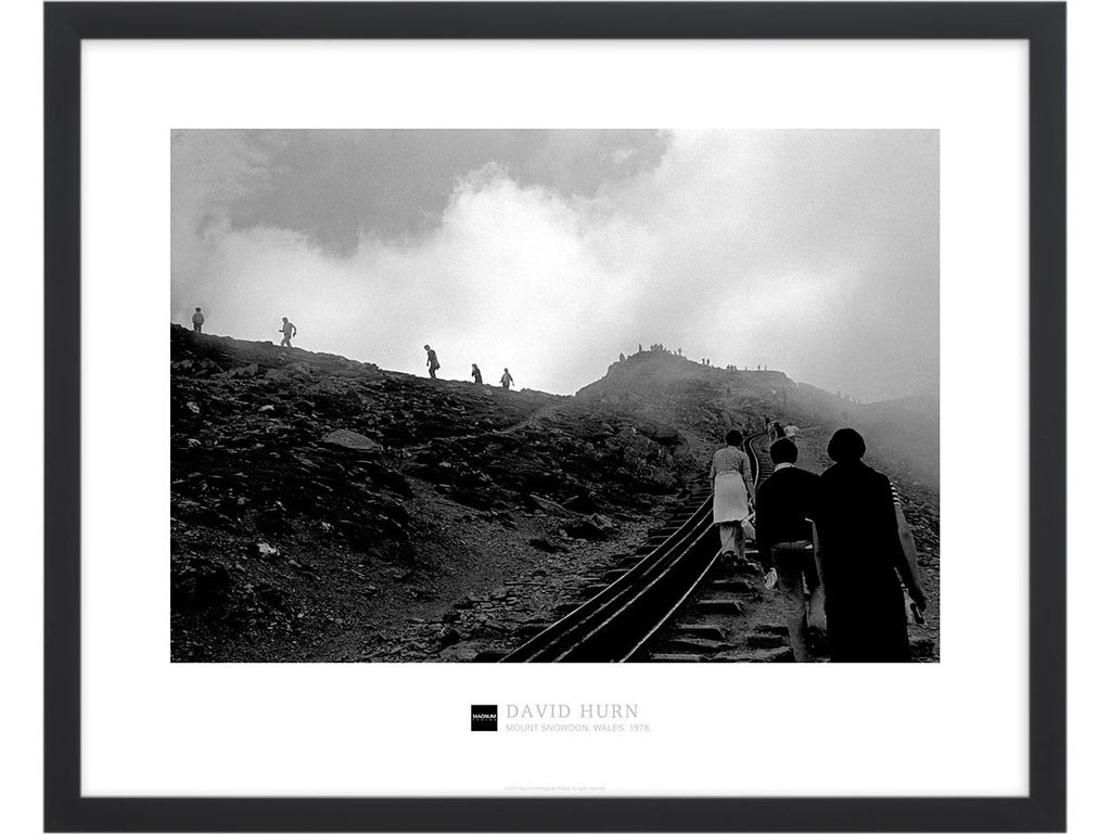 Magnum Collection Poster: Mount Snowdon. Wales. 1978.