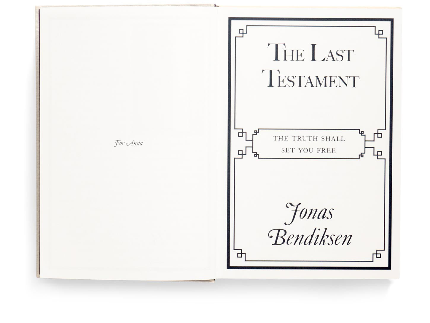 The Last Testament - Limited Edition with Print
