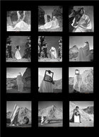 "Contact Sheet Print: ""Par delà la réalité"" (Beyond reality), Athens, Greece 1937"