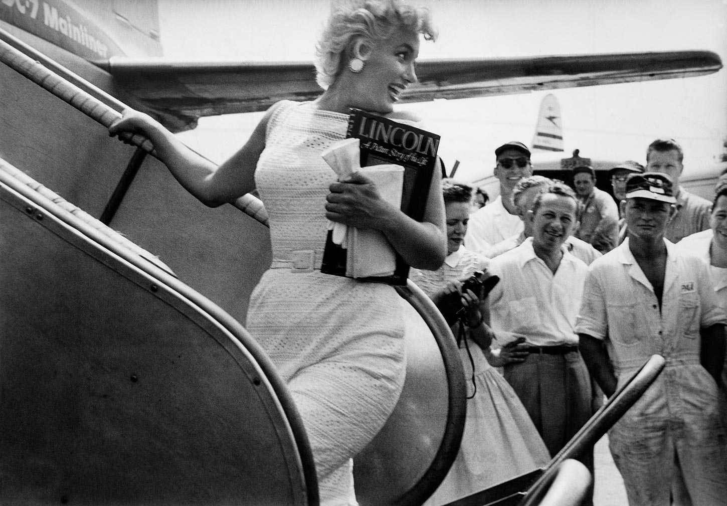 Marilyn Monroe. New York, USA. 1955.