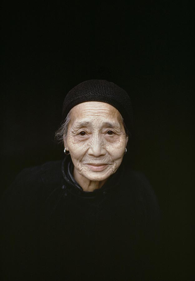 Retired woman. China. 1979.