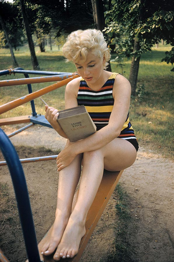 Marilyn Monroe. Long Island, New York. 1955.