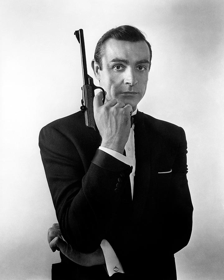 "Scottish actor Sean Connery in publicity shots for ""From Russia with Love."" England. 1963."