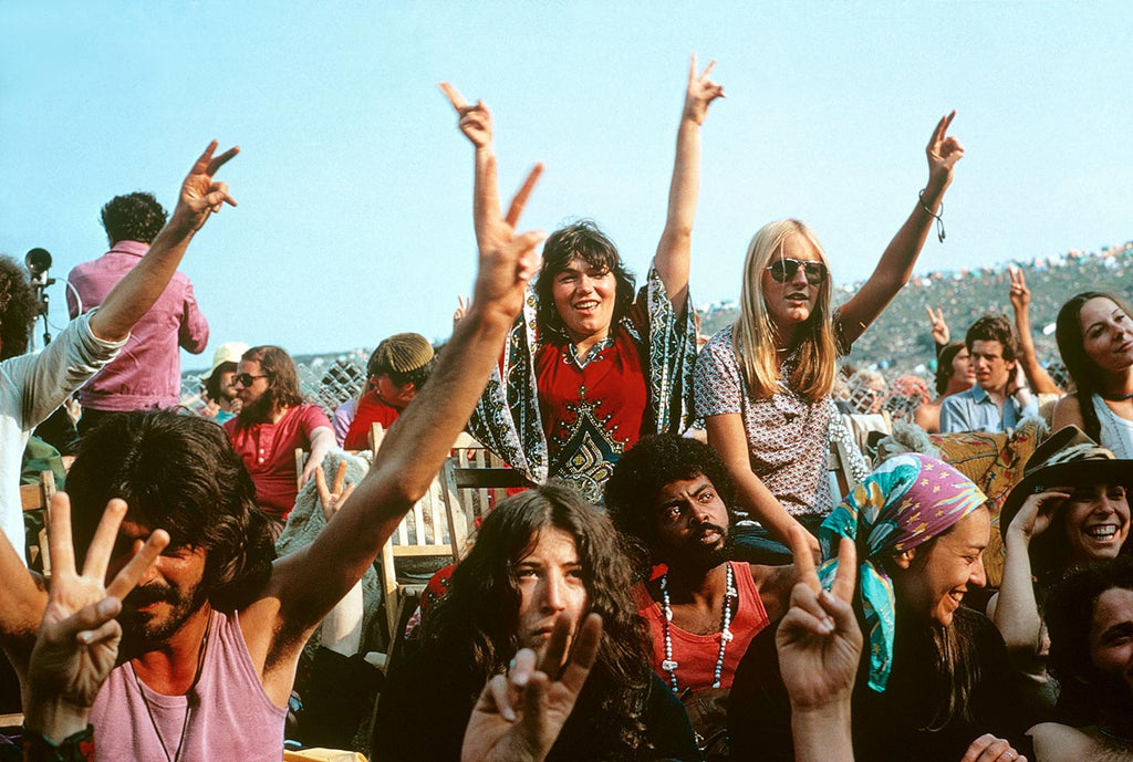 Isle of Wight Festival. England. 1969.