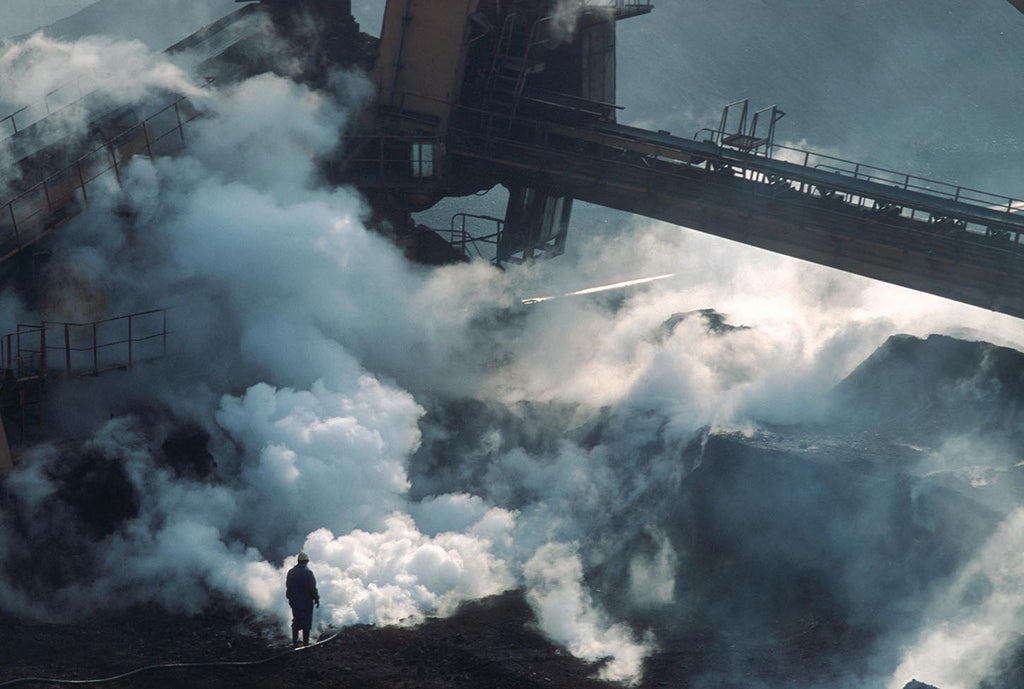 Shanghai Harbour Coal Handling Co. Shanghai, China. 1993.