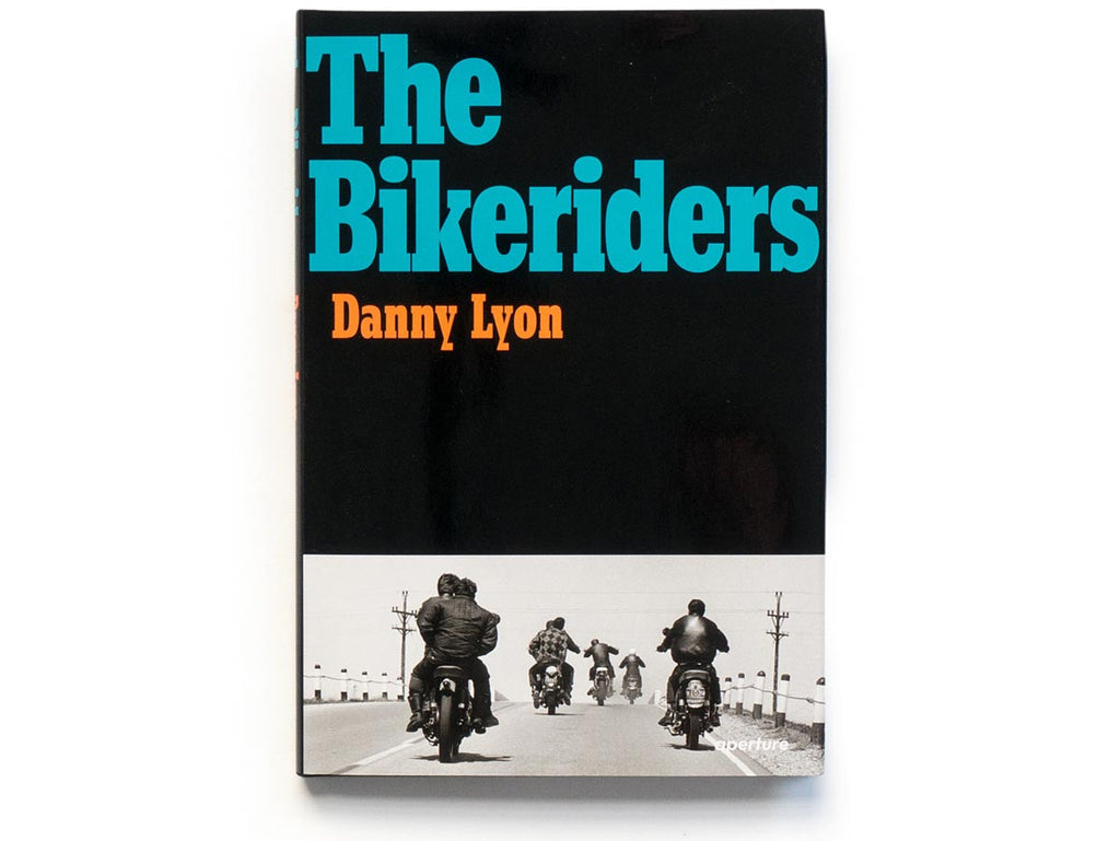 The Bikeriders Book Signed by Danny Lyon