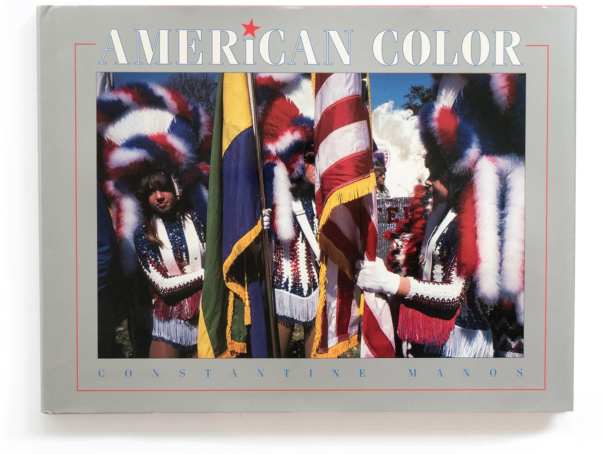 American Color Book Signed by Constantine Manos