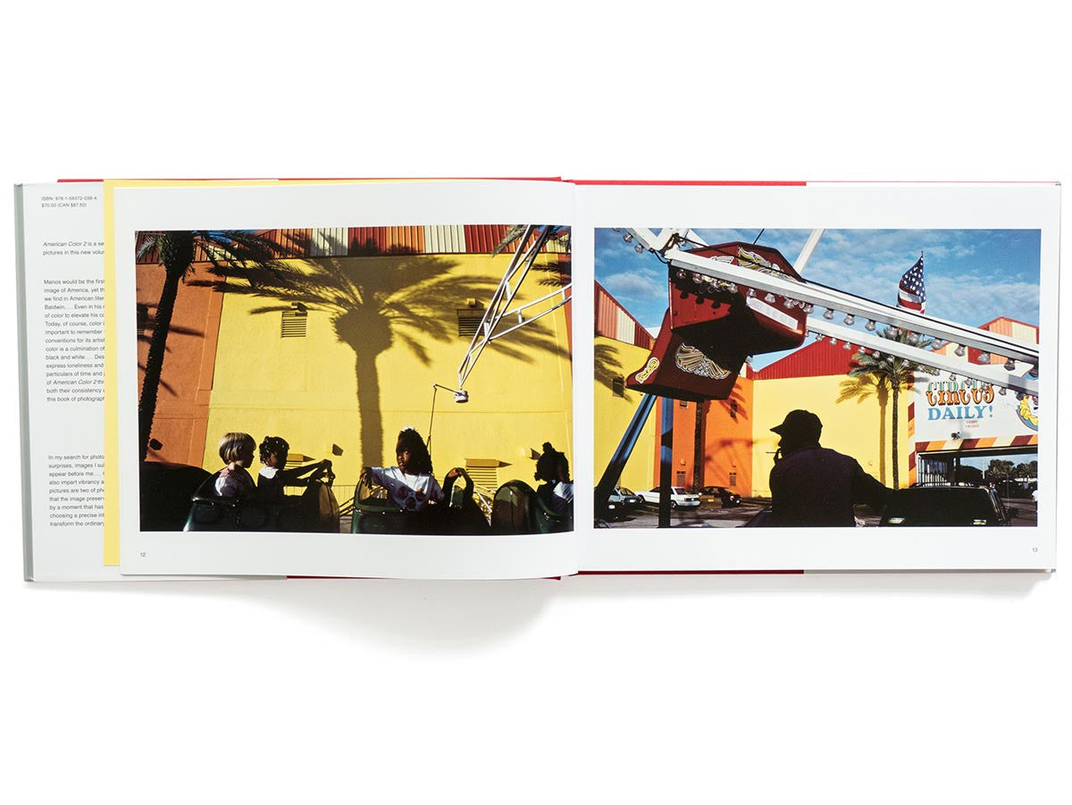 American Color 2 Book Signed by Constantine Manos