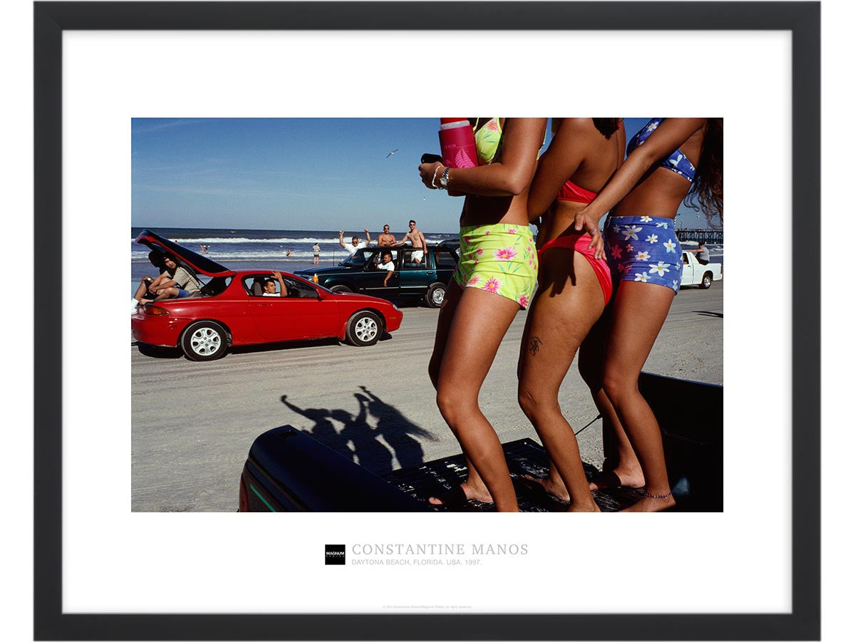 Magnum Collection Poster: Daytona Beach, Florida. USA. 1997.