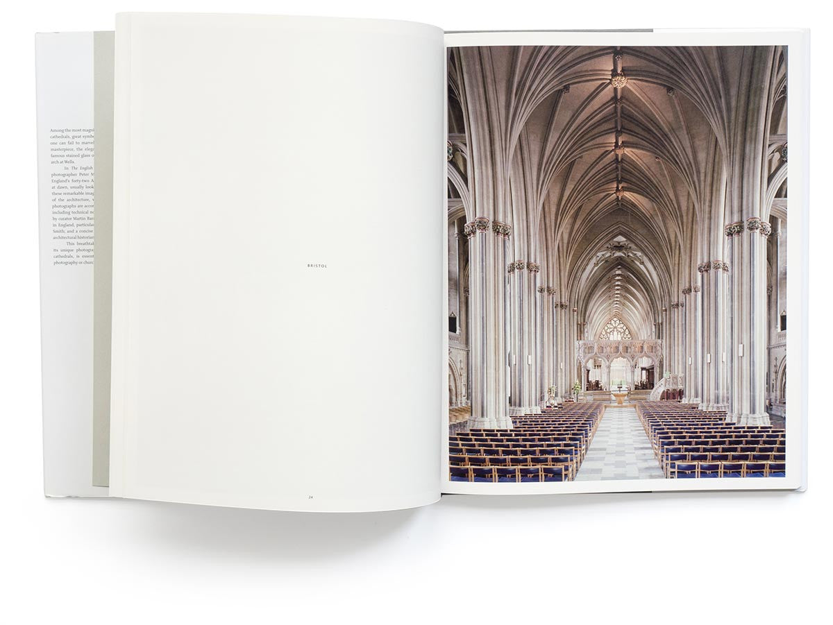The English Cathedral Book Signed by Peter Marlow