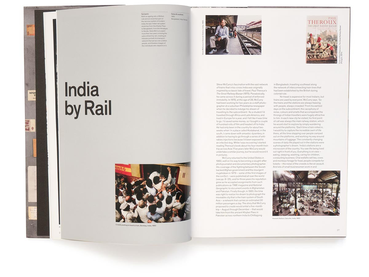 Untold: The Stories Behind the Photographs Book Signed by Steve McCurry