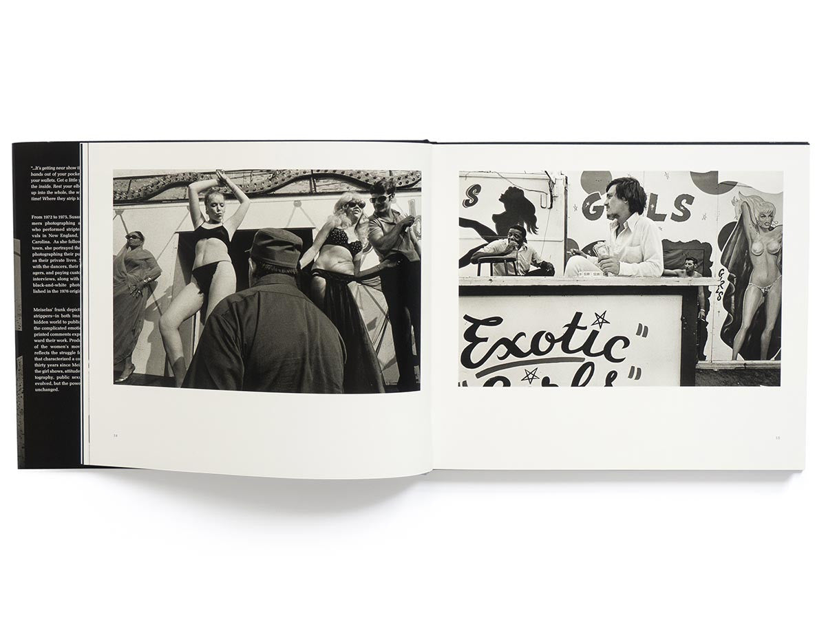 Carnival Strippers Book Signed by Susan Meiselas