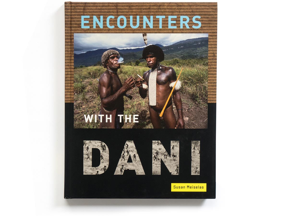 Encounters with the Dani Book Signed by Susan Meiselas
