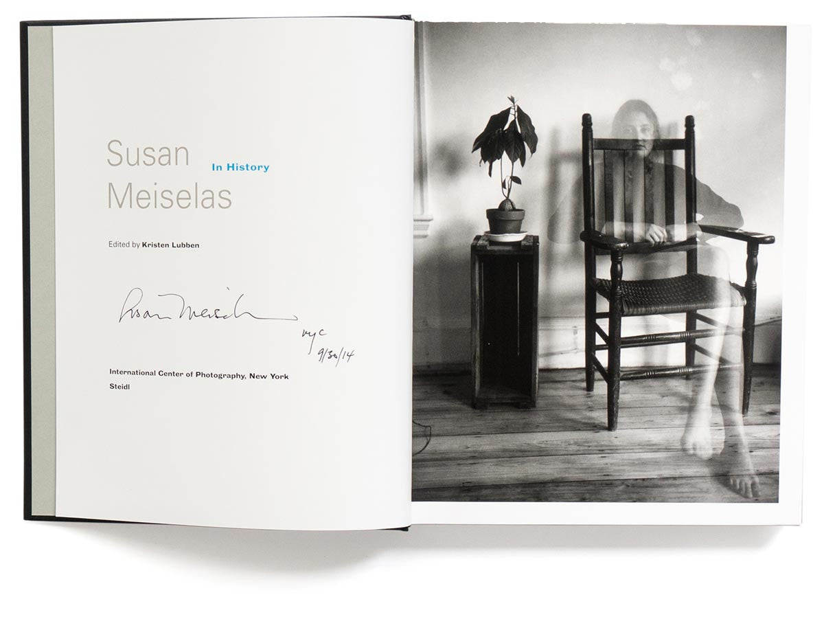 In History Book Signed by Susan Meiselas