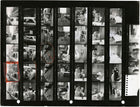 Contact Sheet Print: A Llama in Times Square, 1957