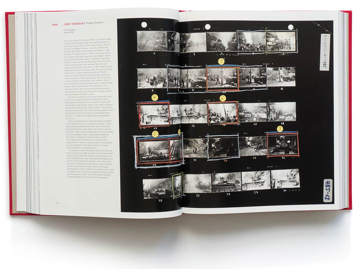 Magnum Contact Sheets: Trent Parke, the Seventh Wave, 2000 (Collector's Edition with Print)