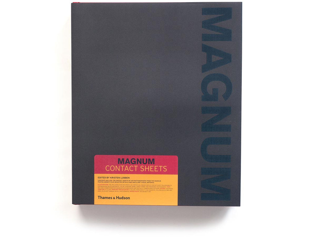 Magnum Contact Sheets 1st Edition Book Signed by 34 Magnum Photographers