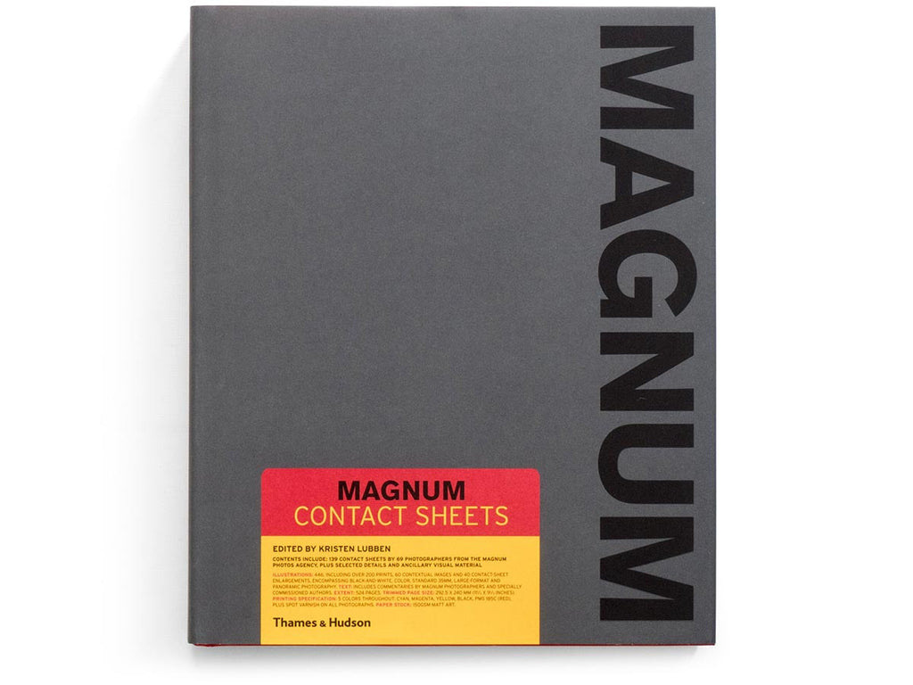 Magnum Contact Sheets - 2nd Edition Signed by 34 Photographers