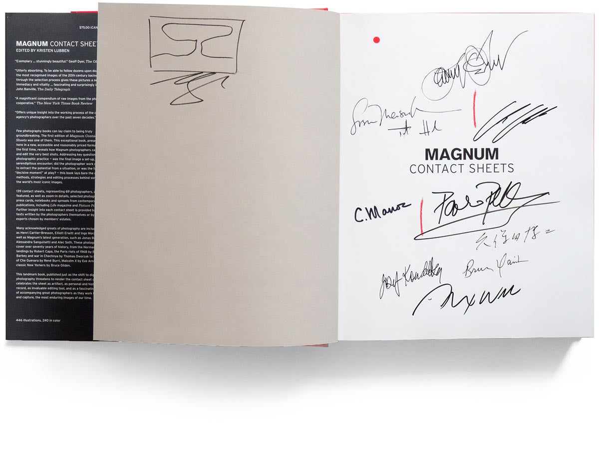 Magnum Contact Sheets - 2nd Edition Signed by 33 Photographers ...