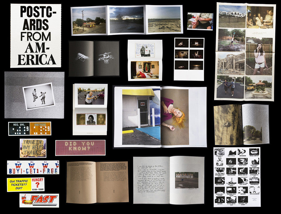 Postcards From America Box Set Signed by Meiselas, Pellegrin, Subotzky, Goldberg and Soth
