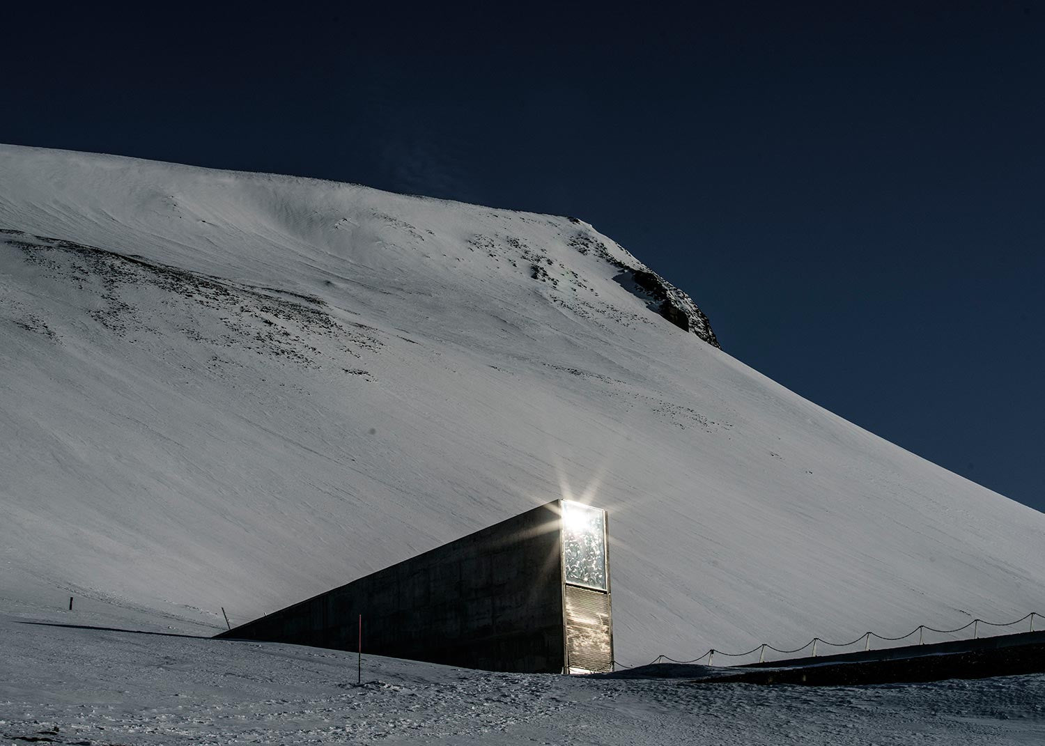 The Global Seed Vault. Svalbard, Norway, 2016.