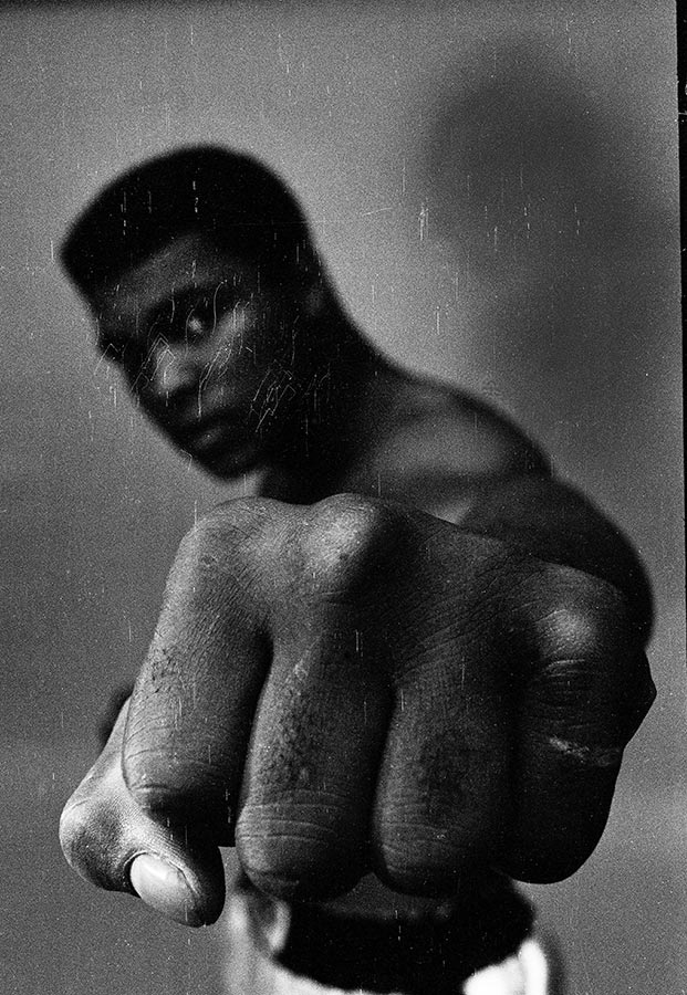 Muhammad Ali. Chicago, Illinois, USA. 1966.