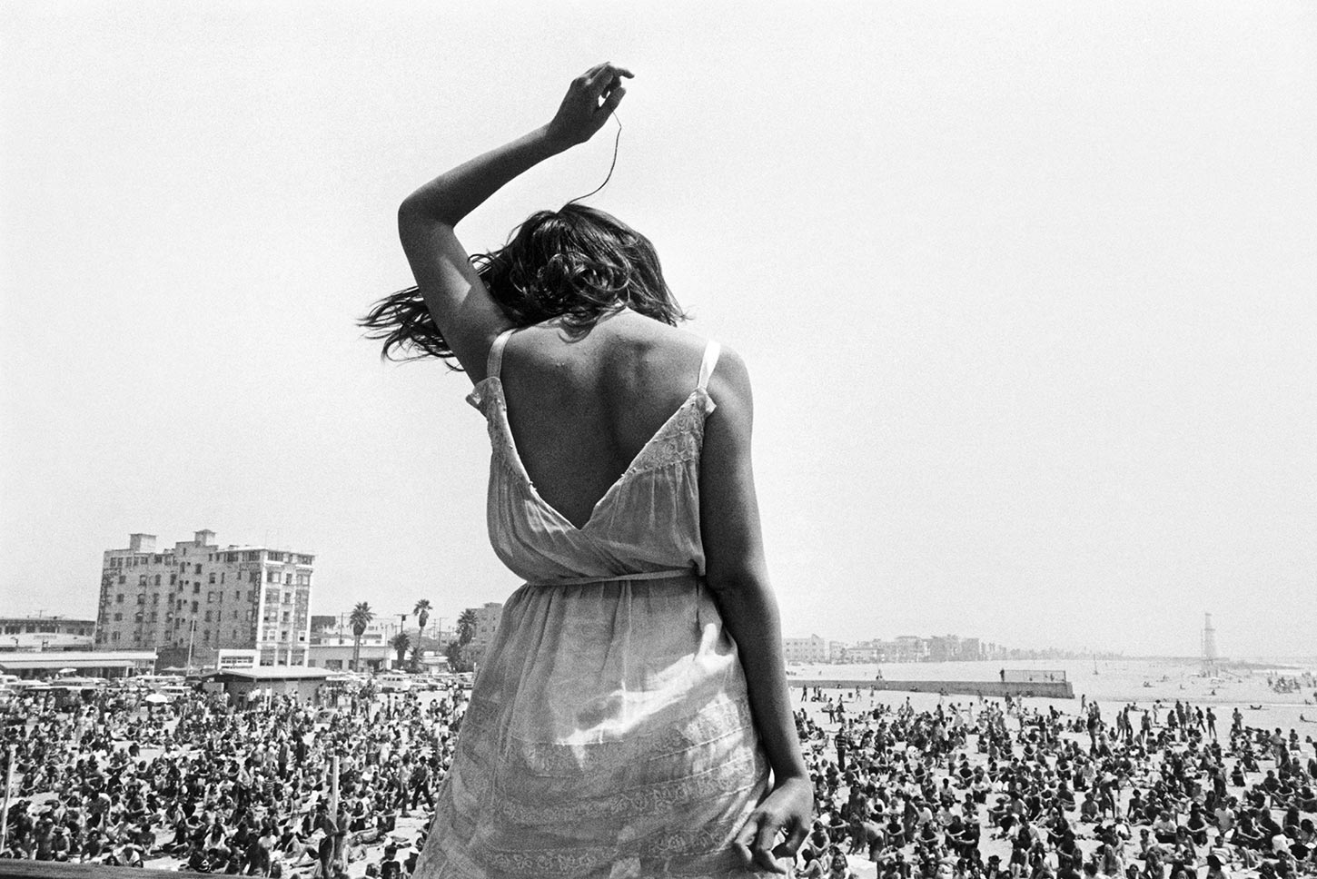 Venice Beach Rock Festival. California. 1968.