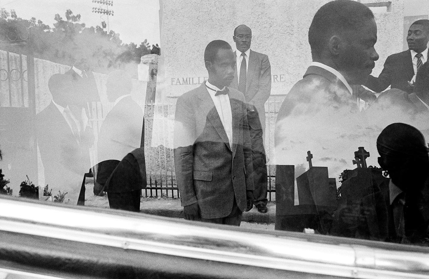 Funeral Reflection. Port-au-Prince, Haiti. 1992.