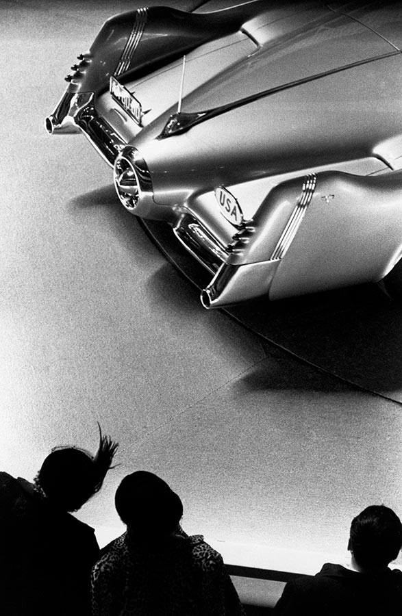 Motorama car show. New York City, New York. 1953.