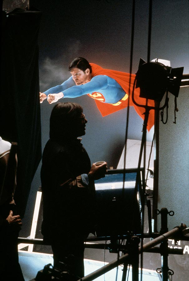 Christopher Reeve as Superman. USA, 1978.