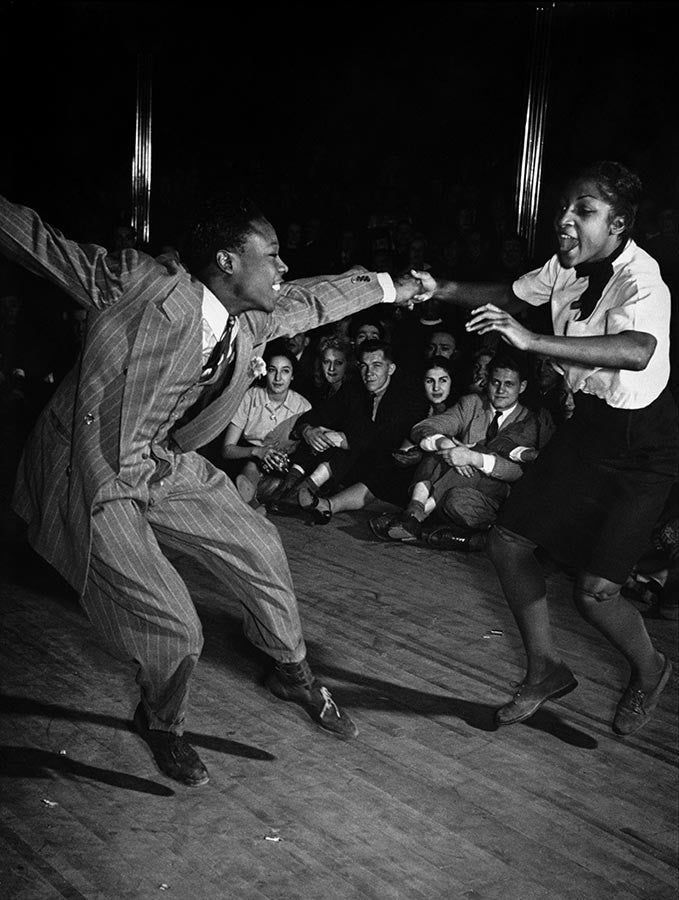 Savoy Ballroom in Harlem, New York City. 1939.